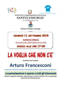 Locandina Incontro A. Francesconi